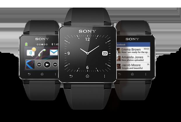 Die Smartwatch 2 von Sony