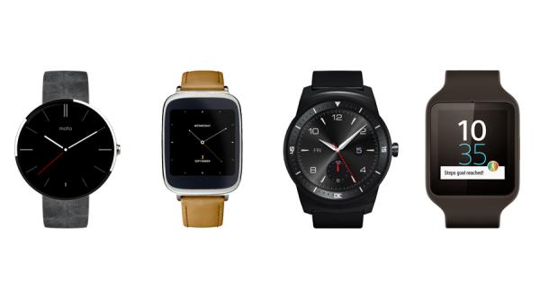 Die neuen Android Wear Modelle kommen im Laufe des Jahres